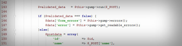 Easy and convenient data validation with GUMP